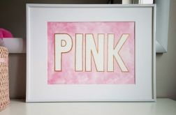 Obrazek/Plakat Pink + RAMKA