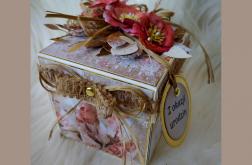 Exploding box dla kobiety urodziny imieniny inne okazje