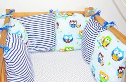 Modułowy ochraniacz do łóżeczka 6 szt N7