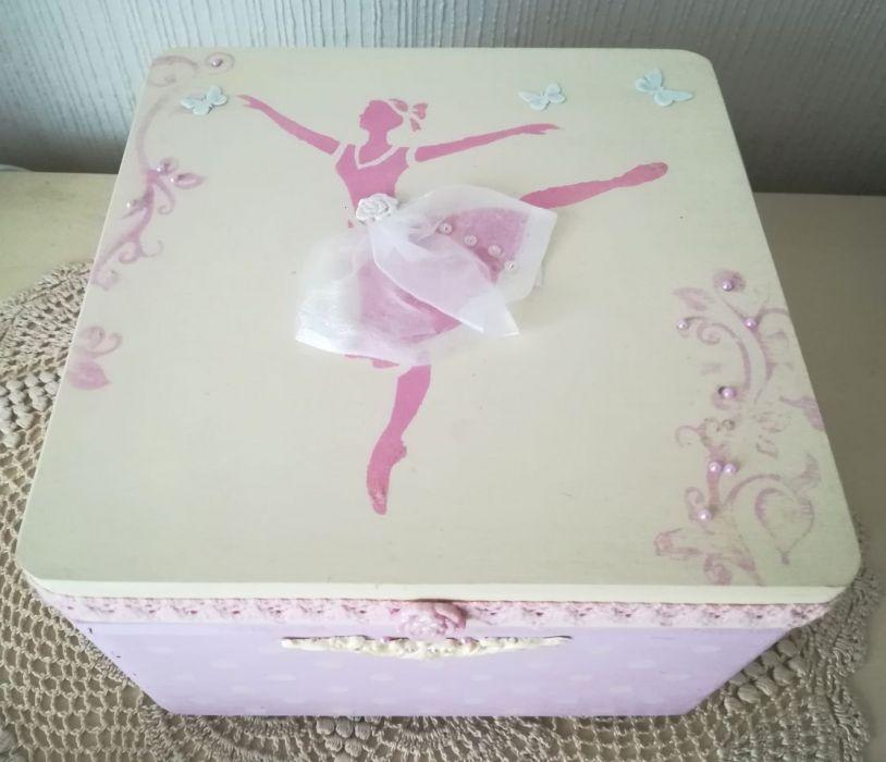 Kuferek z baletnicą - Kuferek dla dziewczynki