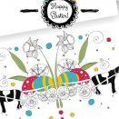 Kartka Wielkanocna z Wozem Pełnym Jaj...