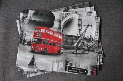 4 podkładki pod talerze - Londyn
