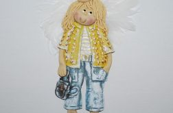 Plecaki są modne - anioł