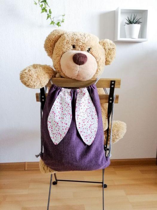 Worek /plecak fioletowy