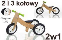 Rowerek biegowy 2w1 od 25 cm LAILY