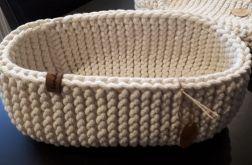 Koszyk ze sznurka owal