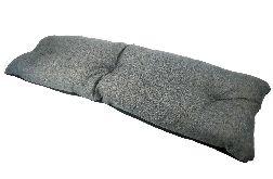 Poduszka ogrodowa na huśtawkę WODOODPORNY LEN
