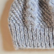 ciepła czapka z alpaki