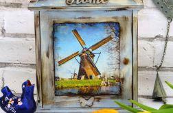 Szafka na klucze, sielska, Holandia