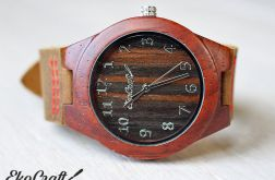 Drewniany zegarek HOOPOE