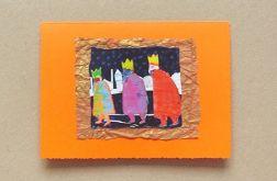 Kartka świąteczna - trzej królowie-nr 1