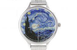 """Zegarek Art z bransoletą""""Gwieździsta noc"""""""