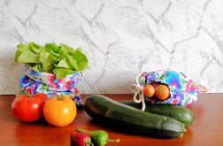 Worek na warzywa, 2 sztuki,SZARE PASY