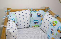 Modułowy ochraniacz do łóżeczka 6 szt N8