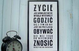 Typografia Obraz Nowoczesna Grafika Cytaty