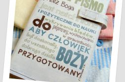 Okładka etui na Biblię całe pismo jasna/Warszawska, Tysiąclecia, Edycja św. Paweł, Nowe Przymierze