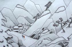 Zima w japońskich górach