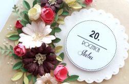 20 Rocznica Ślubu PORCELANOWA