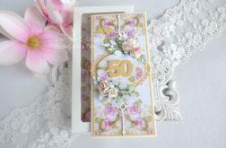 Kartka jubileuszowa w pudełku 38
