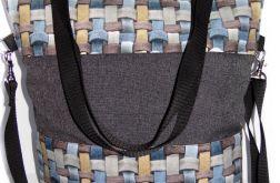 Torebka damska torba shopper krata3D