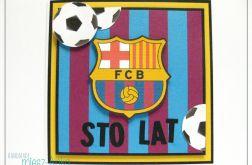 Kartka dla fana FC BARCELONA - 1