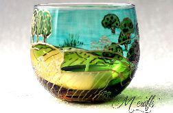 Lampion szklany -2-