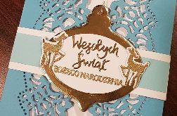 Kartka bożonarodzeniowa z zawieszką KH2012004