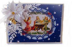 Kartka z okienkiem - religijna.