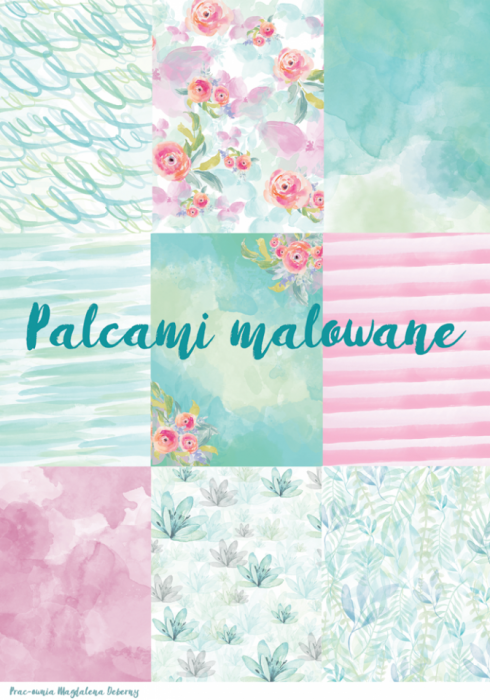 "Kit ""Palcami malowane"""