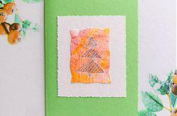 Kartka  świąteczna minimalizm 64