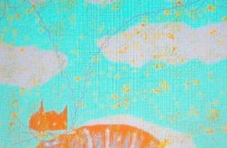 Kot w chmurach