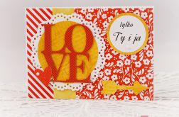 walentynkowe LOVE (karnet)