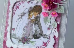 Kartka ślubna z przymrużeniem oka