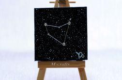 Kartka-Magnes: Znaki zodiaku-Koziorożec
