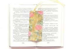 Zakładka do książki w róże nr 4