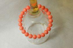 20.Bransoletka ze szklanych koralików 8mm