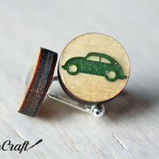 Drewniane spinki do mankietów AUTO Color