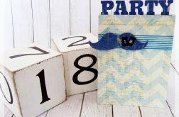 Zaproszenia urodzinowe - PARTY