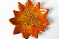 Podstawka ceramiczna kwiat 02