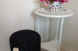 Koziołek / stołek ze sznurka na nóżkach