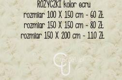 Kocyk różyczki do sesji zdjęciowych 100 x 150 cm