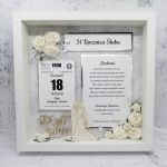 Piękna ramka 3D na rocznicę i ślub PRS 026 - ramka 3D na rocznicę i ślub 2