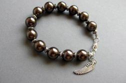 brązowe perły