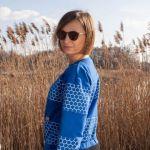 Bluza - Chabrowa szósteczka - To ja Martyna w bluzie Chabrowa Szósteczka
