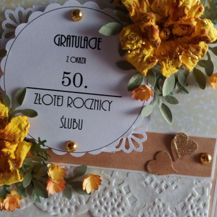 Gratulacje z okazji 50 Rocznicy Ślubu