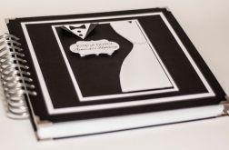 Księga gości black&white