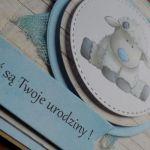 Kartka urodzinowa/roczek - urodziny