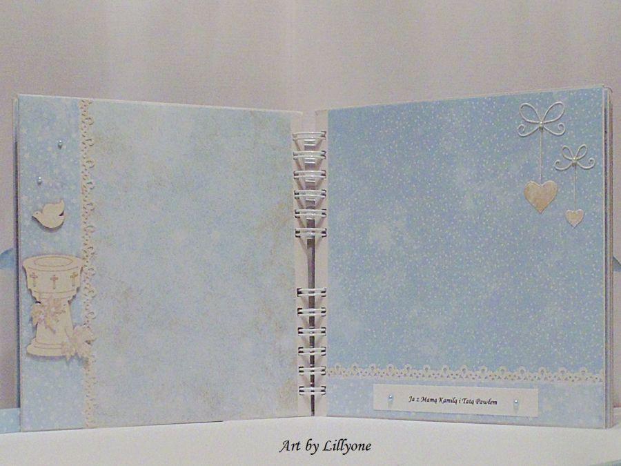 Album na Chrzest w pudełku