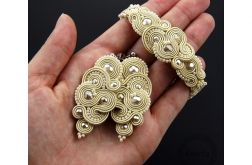 Komplet mirino cream soutache