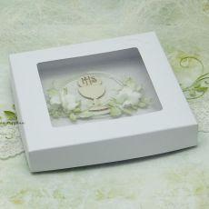 Z kielichem - Pamiątka I Komunii w pudełku